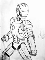 Iron Man sketch by HELLPATO777