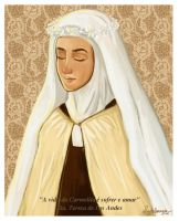 The life of the Carmelite... by artelizdesouza