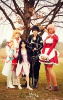 The Family of Sword Art Online by Sutibu-sama