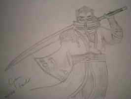 Auron by Drawindrummer13