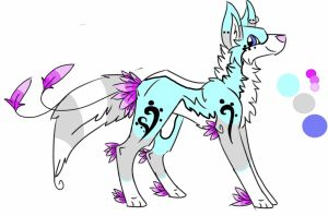 wolf adoptable (CLOSED) by spiritwolf2002