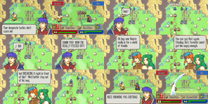 DoD Comic 22: Ike is Enraged by Great-Aether