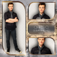 +Photopack png de Chris Colfer. by MarEditions1