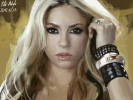 Shakira - study by PeterPrime