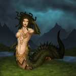 Lament of the Gorgon by Khiralas