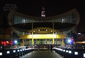 Manar mall at night RAK 3 by amirajuli