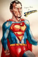 Gregory Peck- Superman by stinson627