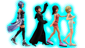 .:KH Girls:. by Kairi927