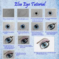 Elsa eye tutorial by maja135able