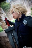 Cloud Strife by FallingFeathers