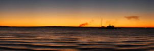 Sunset at Fraser Island - Panorama by fischli32