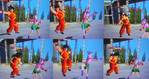 DRAGON BALL XENOVERSE:LET'S DANCE by superaustin15
