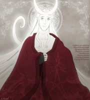 Vorkhan's Red Robes by andrea-koupal