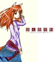 Spice and Wolf by tutti-fruppy