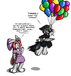 Balloons Might Be Dangerous by Virmir