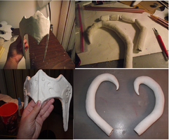 Lady Loki diadem wip 1 by wearmuffin