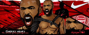 Thierry Henry vector by akyanyme