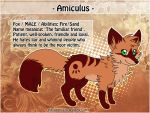 2012 Sheet Amiculus by Pharaonenfuchs