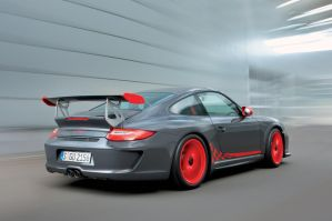 2010 Porsche 911 GT3 RS Back by TheCarloos