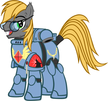 Clip Board Space Wolf by TheEditorMLP