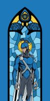 Romulus Stained Glass by phil-cho