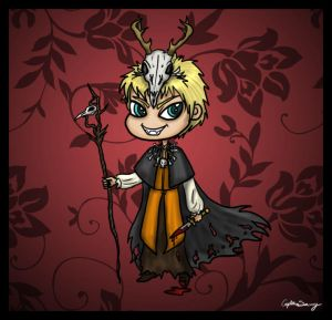 Halloween Calaen Chibi by Captain-Savvy