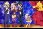 HAPPY HOLIDAYS pokemon x y by hikariangelove