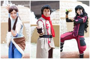 Team Korra by MazzTheGreat