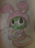 Happy Easter! by Pikawolf11
