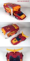 MP Rodimus plus by Unicron9