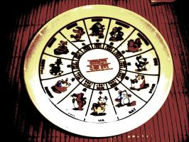 chinese signs of the zodiac. by insomniana