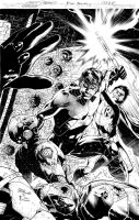 NIGHTWING 17COVER ink by eberferreira