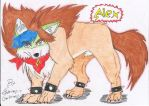 Alex Von Koopa - Wolf by Sonadow-95