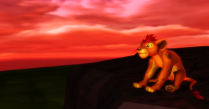 MMD Newcomer Cub Kion + DL by Valforwing