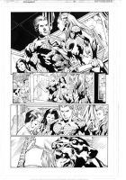 Aquaman test page 1 by MarkIrwin