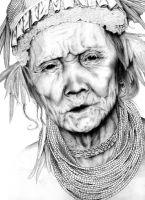 woman from borneo by dandeesukagambar