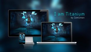 I am Titanium wallpaper by IamUman