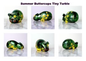 Summer Buttercups Tiny Turble by CozmicDreamer