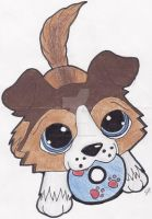 Teh LPS frisbee dog by Boltonartist