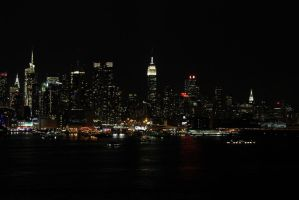 New York City Skyline 4 by migratingevilpoo