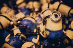 Stand Out Minion by HHNDoll
