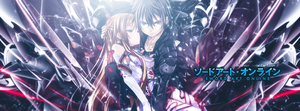 Sword Art Online ` Kirito and Asuna v2 [TLC] by JamesxpGFX