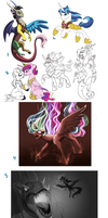MLP dump 3: Revenge of the sith by Lopoddity