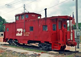 BN Caboose by SMT-Images