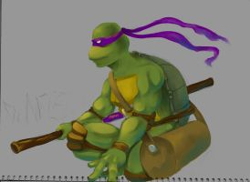 Donatello sketch-Coloring by 000123456