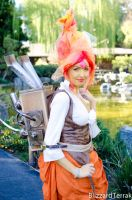 NCSP13 - Steampunk Flame Princess by BlizzardTerrak