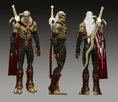 New Kain and Reaver Skin for LoK: Defiance Model by TheHylden