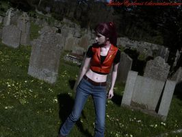 In the graveyard by MasterCyclonis1