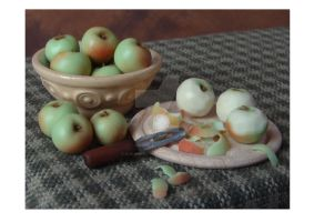 Apples in Colour by NJD-Miniatures