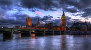 Big Ben Sunset by fbuk